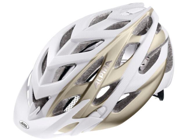 Alpina D-Alto L.E. Helmet white-prosecco